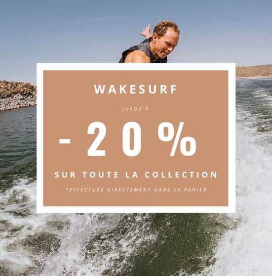 Promotions wakesurf