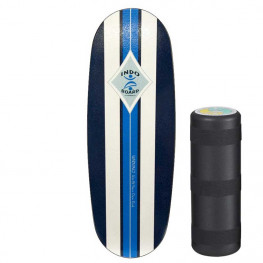 Indoboard Pro Blue + Rouleau Grand Diametre