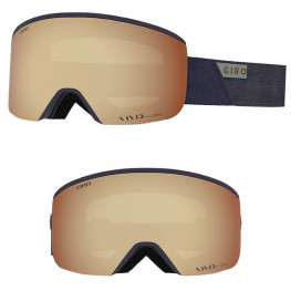 Masque Giro Axis Midnight Peak Ecran Vivid Cooper+infrared
