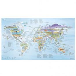 Carte Du Monde Kite Surf Map