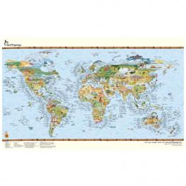Carte Du Monde Surf Trip Map