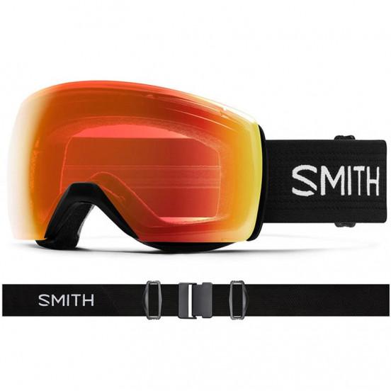 Masque Smith Skyline Xl Black Cp Everyday Red Mirror