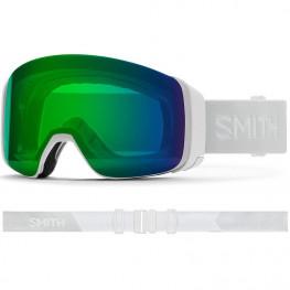 Masque Smith 4dmag White Vapor Cp Ed Green Mir+cp Storm Rose