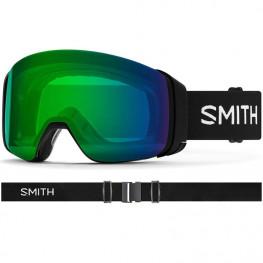 Masque Smith 4d Mag Black Cp Ed Green Mir+cp Storm Yello
