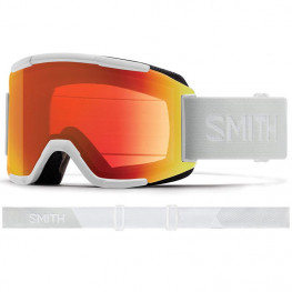 Masque Smith Squad White Vapor Cp Everyday Red Mirror+yellow