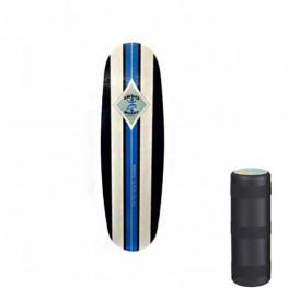 Indoboard Mini Pro Blue + Rouleau Grand Diametre