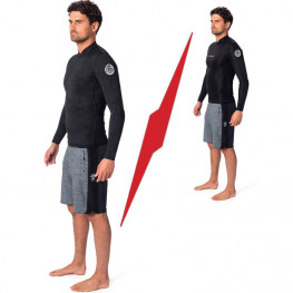 Top Neo Rip Curl Manches Lg Dawn Patrol Reversible 1.5mm