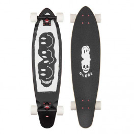 Longskate Globe Bells Blk White Red