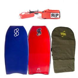 Bodyboard Science Tanner Flex 7 Nrg 2020 + Leash RIP poignet + Housse Gyroll