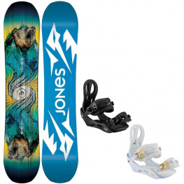 Snowboard Jones Jr Prodigy 2021 + Fixations Nitro The Rythm