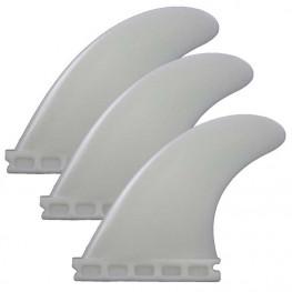 Ailerons Surf Compatibles  Futures-fins Set De 3 Natural