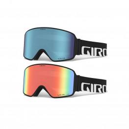 Masque Giro Method Black Wordmark+ecran Royal+infrared