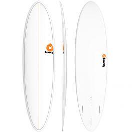 "Surf Torq Pinline Mod Fun White 2021 - 7'2"""