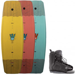 Wakeboard Hyperlite Wishbone 2021 + Chausses Remix Hyperlite 2021