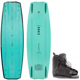 Wakeboard Ronix One Black Out 2021 + Chausses Remix Hyperlite 2021
