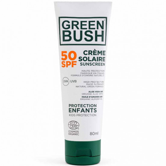 Creme Solaire Green Bush  Bio Cosmos Spf50