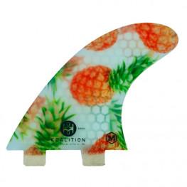 Ailerons Surf Koalition Pineapple Dual Tabs