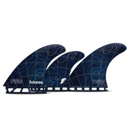 Ailerons Surf Futures Twiggy 5 Fins