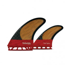 Ailerons Surf Futures Twin+1 Keel Blackstix Machado