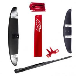Foil Axis aile 890mm/1290cm² - mât 82 cm - stab 440 mm
