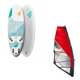 Planche Fanatic Gecko Hrs 2021 + Greement complet Freeride Nautix