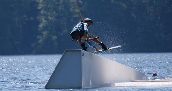 Veste impact wakeboard enfant