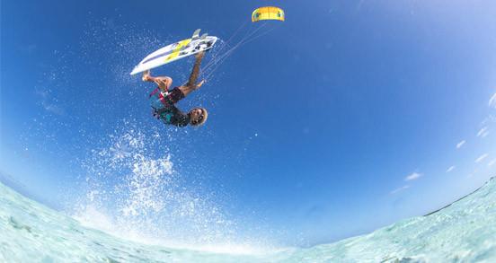 Aileron surfkite