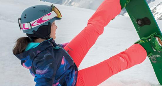 Pantalon ski - snowboard femme