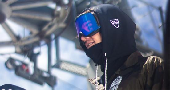 Cache cou et Cagoule Snowboard